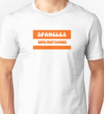 Super Fruit Flavoured Spangles 1970s retro boiled sweets T-Shirt