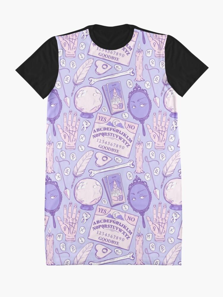 Alternative Ansicht von Weissagung in Pastell Lila T-Shirt Kleid