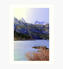 """High Sierra Lake"" Art Print"