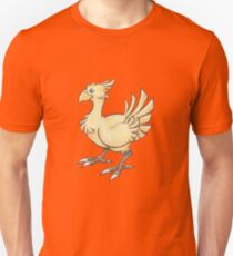 Final Fantasy Chocobo in Pastel & Colour Pencil T-Shirt
