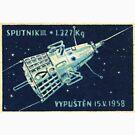 SPUTNIK II 1958 von TheWhiteBear