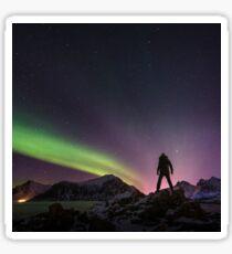 Under the Northern Lights Sticker