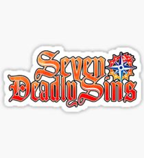 SEVEN DEADLY SINS - LOGO Sticker