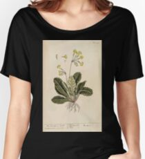 A curious herbal Elisabeth Blackwell John Norse Samuel Harding 1737 0578 The Cowslip or Paigle Women's Relaxed Fit T-Shirt