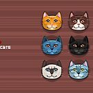 I Love Cats by FlameiaDesign