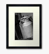 Metal Container France Framed Print