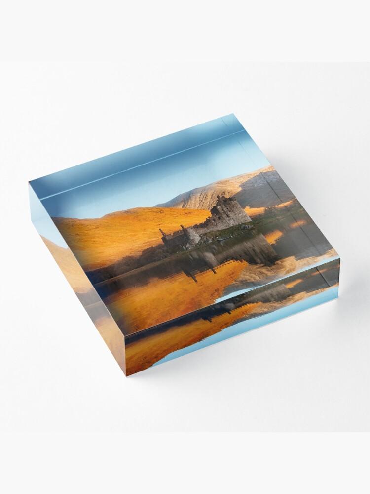 Bloc acrylique ''Chateau Ecossais': autre vue