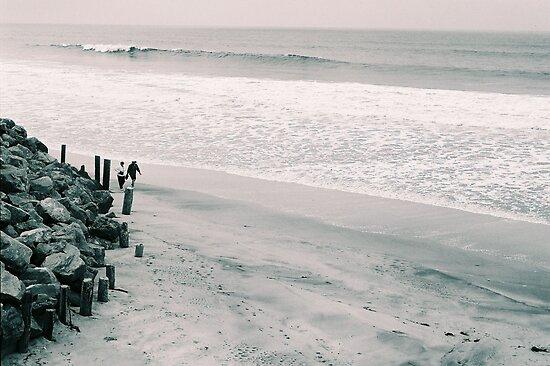 Walk on the Beach by BluAlien