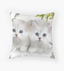 Kittens ..  Throw Pillow