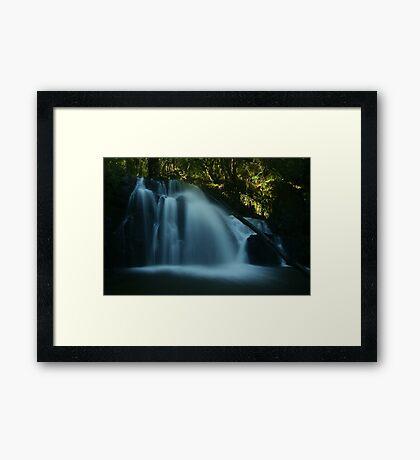 Upper Lilydale Falls Framed Print