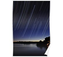Star Fall - Lake Samsonvale Poster