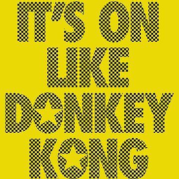 Es ist wie Donkey Kong - Kariert von cpinteractive
