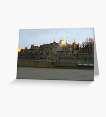 Tower Hill London Greeting Card