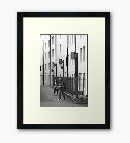 Just one more....... Framed Print