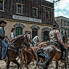 The Cattle Drive by Brian Tarr