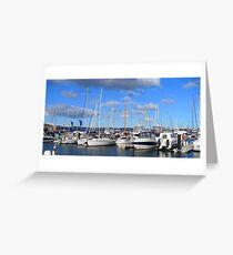Hobart Yachts Greeting Card