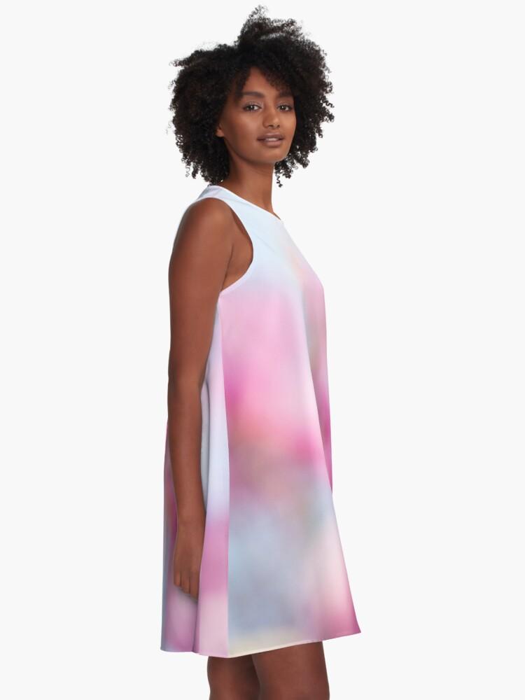 Alternate view of Magenta Magnolia A-Line Dress