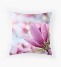 Magenta Magnolia Floor Pillow