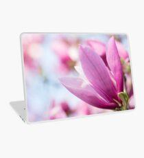Magenta Magnolia Laptop Skin
