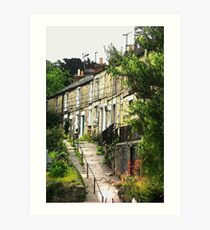Stokes Croft in Frome Art Print