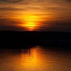 Sunset over Port Ellen Distillery  by Kasia-D