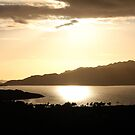 Upper Loch Torridon Evening Light by ScotLandscapes