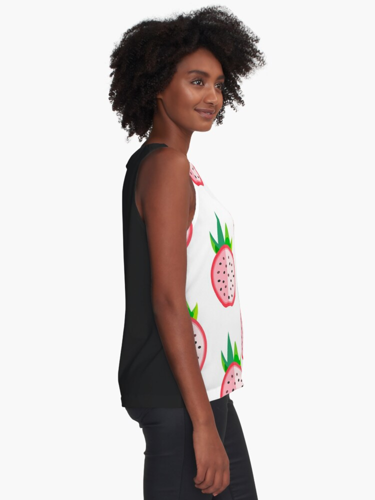 Alternate view of Dragon Fruit Halved Sleeveless Top