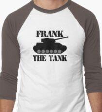 FRANK THE TANK -  A Parody Men's Baseball ¾ T-Shirt