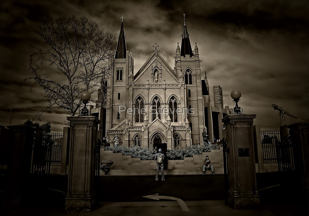 St Mary's Cathederal ~ Perth, Western Australia by Pene Stevens