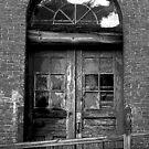 Old Mill Door by OntheroadImage
