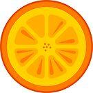 Orange Fruit Slice by THPStock