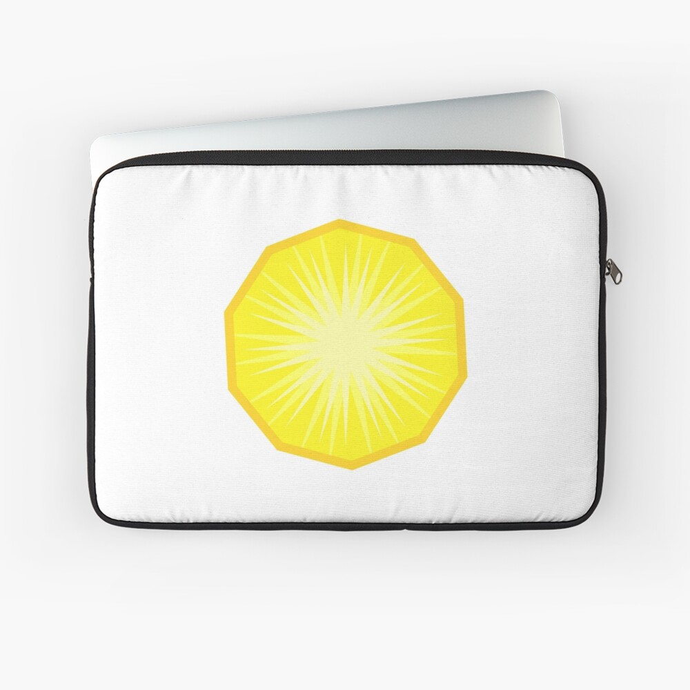 Pineapple Fruit Slice Laptop Sleeve