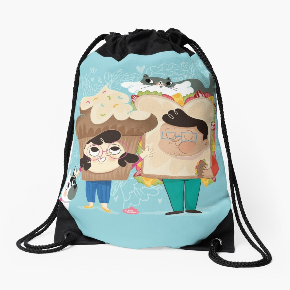 PicNic - Lau Ilustra Drawstring Bag