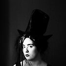 The Woman In The Tall Hat. by Fuschia