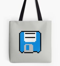 Floppy Disk - Blue Tote Bag