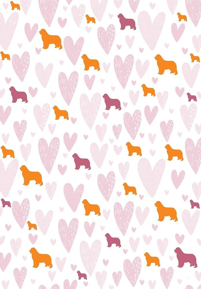 Newfie Love Pattern by Christine Mullis