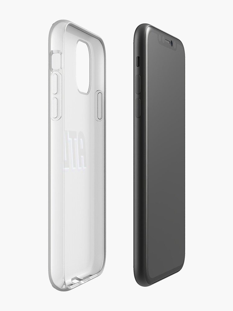 Coque iPhone « ATL flou », par AdventureFinder
