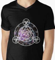 Galaxy Ruins of Arceus Men's V-Neck T-Shirt