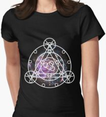 Galaxy Ruins of Arceus Women's Fitted T-Shirt