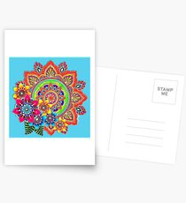 Springtime Mandala Postcards