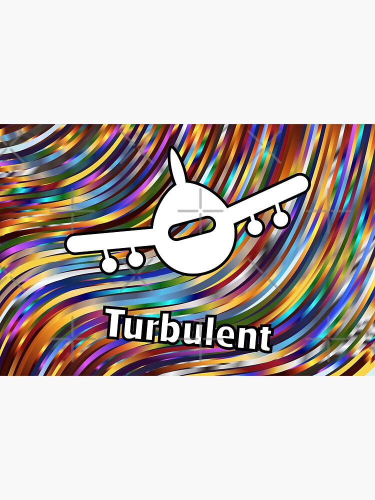 Turbulent Airplane Streaming Lines Color by TinyStarAmerica