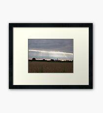 Rural Sky Framed Print
