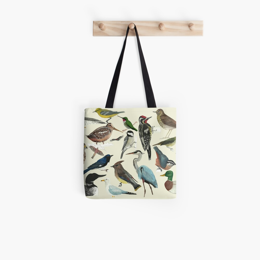 Bird Fanatic Tote Bag