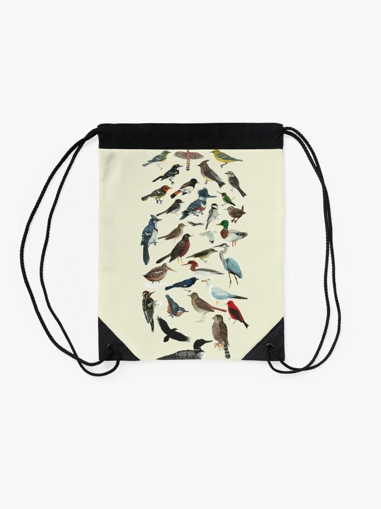 Alternate view of Bird Fanatic Drawstring Bag
