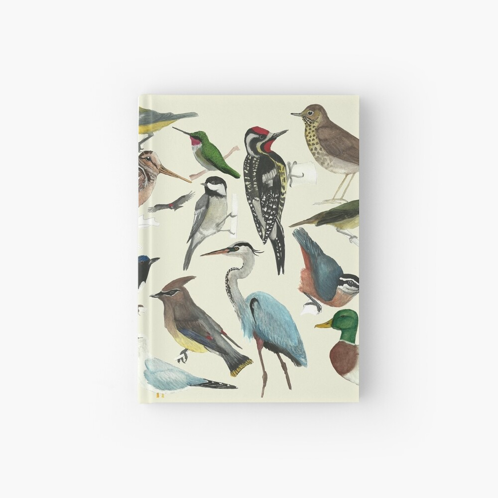 Bird Fanatic Hardcover Journal
