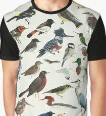 Vogelfanatiker Grafik T-Shirt