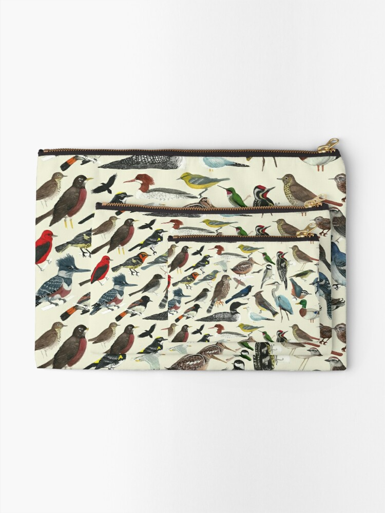 Alternate view of Bird Fanatic Zipper Pouch