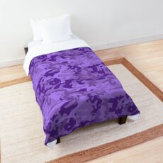 Awesome Camouflage Pattern Purple   Comforter