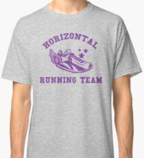 Horizontal Running Team Classic T-Shirt