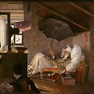 The Poor Poet, by Carl Spitzweg by edsimoneit